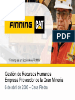 10. Presentacion Del Vicepresidente de Recursos Humanos de Finning Chile