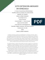 Trafico Ilicito Detencion Abogado en Venezuela