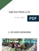 High Pitfalls in ED