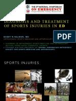 Diagnosis Dan Tatalaksana Trauma Olahraga Di IGD