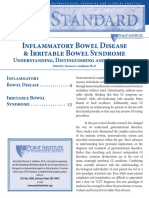 Inflammatory Bowel Disease & Irritable Bowel Syndrome Understanding, Distinguishing and Addressing
