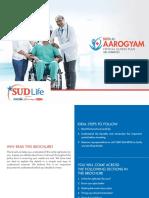 Brochure SUD Life Aarogyam