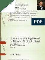 Manajemen TIA Dan Stroke