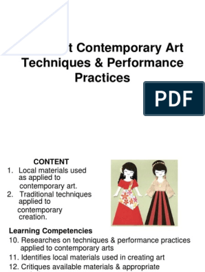3different Contemporary Art Techniques Performance Practices Improvisational Theatre Personal Growth
