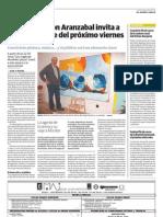 Ramon Aranzabal Diario Vascon