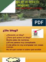 Los blogs en el área de lenguas