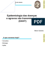 Aula 8 - Epidemiologia Das Doenças e Agravos Não Transmissíveis
