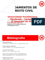 Fundamentos Do Dir Civil