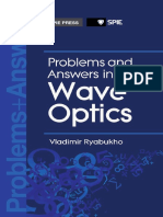Vladimir Ryabukho Problems and Answers in Wave Optics