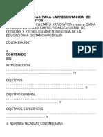 Normas Técnicas Para Lapresentación de Trabajos Escritos