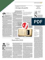 PISA 2015, Un Tiempo de Partir