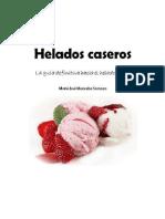 Mancebo María José - Helados Caseros