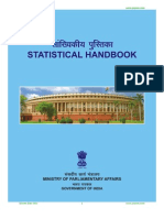 Statistical Handbook of Ministry of Parliamentary Affairs India
