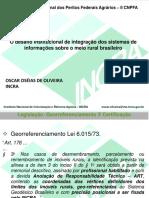 II CNPFA - Apresentação Oscar Oseias - Sigef