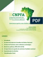II CNPFA - Apresentação Renata Furtado