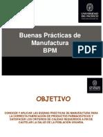 Buenas Prácticas de Manufactura y Buenas Prácticas de Distribución y Transporte