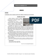 Santillana P5 Ficha de Avaliacao 2A