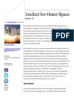 A Code of Conduct for Outer Space - Council on Foreign Relations