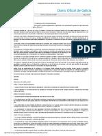 Disposición del Diario Oficial de Galicia- Xunta de Galicia