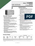 20RES Spec Sheet g4172