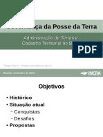 II CNPFA - Apresentação Thiago Marra