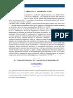 Fisco e Diritto - Corte Di Cassazione Ordinanza n 12057 2010