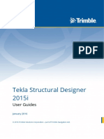 Tekla Structural Designer 2015i User Guide