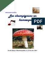 Champignons Homeo