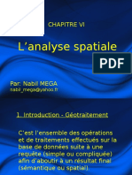 Analyse Spatiale (1)