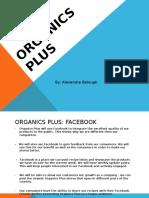 organic plus social media project