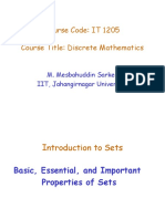 1 Introduction to Sets