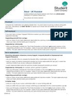 Evidence Information Sheet