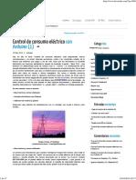 Control de Consumo Eléctrico Con Arduino (1)