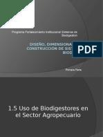 Diseño, Dimensionamiento y Construcción de Sistemas de Biodigestion primera parte 21 04 2013.pptx