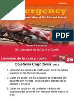 26 LESIONES DE LA CARA Y CUELLO.ppt