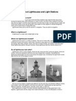 Basic Lighthouse Information