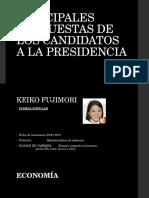 Principales Propuestas de Los Candidatos a La Presidencia