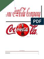 Organizational Behaviour of Coca Cola