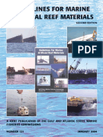 Guidelines for Marine Artificial Reef Materials January 2004