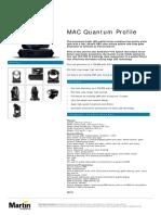 MAC Quantum Profile