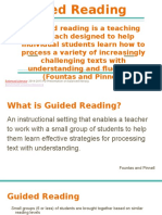guided reading professional development