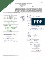 Practice Exam and Solution Heat