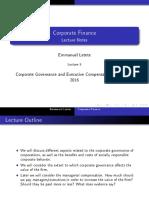 Corporate Finance Lecture 5