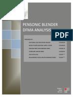 Pensonic Blender DFMA (Group 1)