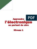 Apprendre l' Electronique en Partant de Zéro - Niveau 1 - Leçons 01 à 28.pdf