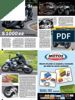 Prueba Bmw S1000RR Edicion 99