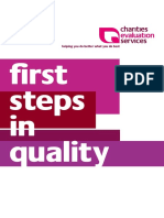 First steps in quality (Murphy 2002)