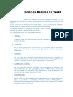 Consideraciones Básicas de Word - Informática Aplicada - Basico Clase 2
