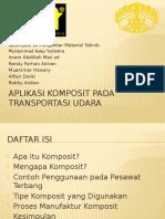 Aplikasi Komposit Pada Pesawat Terbang