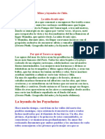 Mitos y leyendas de Chile Recopilación..docx